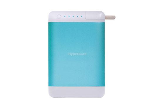 Batterie HyperJuice Plug 15600 mAh Bleu