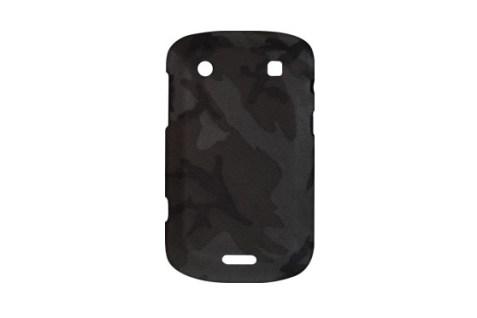 Coque BlackBerry Camouflage Gris Soft Goat (Gris)