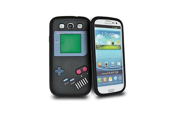 Coque Vintage Game Boy Galaxy S3 (Noir)