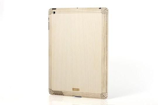Sticker iPad 2/3/4 en bois (Frêne)