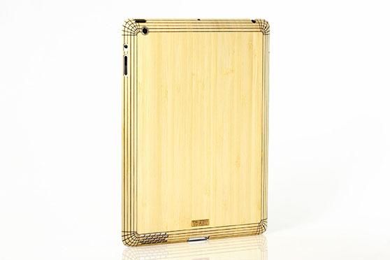 Sticker iPad 2/3/4 en bois (Bambou)