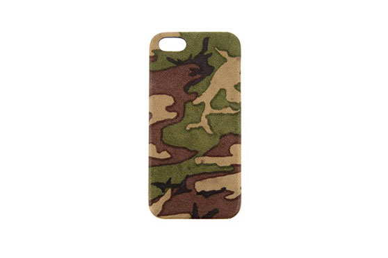 Coque iPhone 5/5s/SE Camouflage Soft Goat (Naturel)
