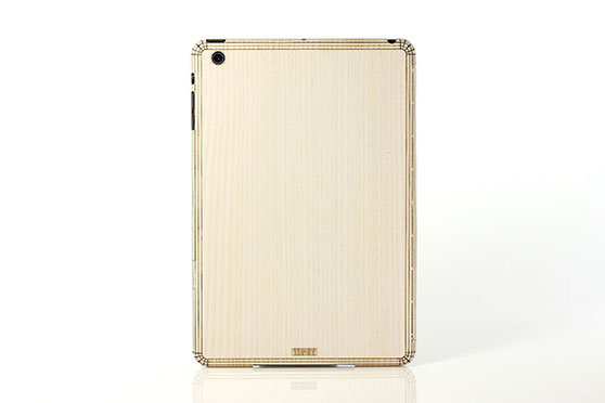 Sticker iPad Mini en bois (Frêne)