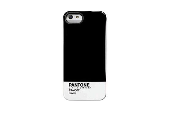 Coque iPhone 5 Pantone Universe Caviar Noir