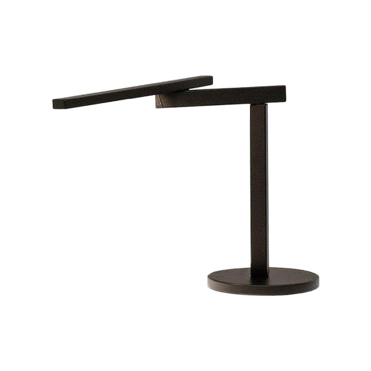 Lampe objekten Twist oak dark (Noir) by Alain Berteau