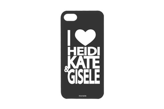 Coque Pauker Noire I Love Heidi