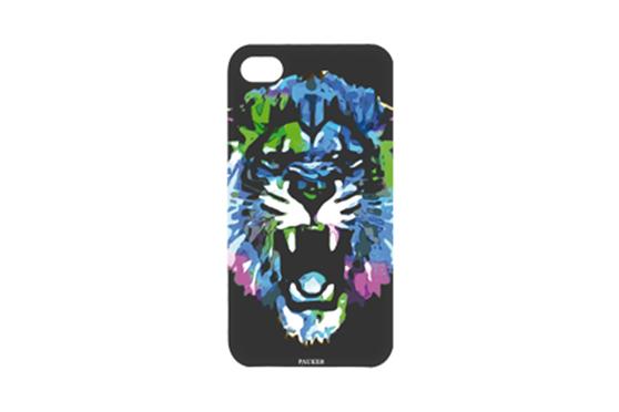 Coque iPhone 4/4S Pauker Lion Noir