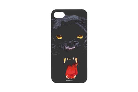 Coque iPhone 5 Pauker Panthère Noire
