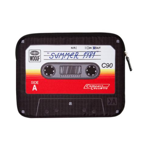 Housse iPad Cassette Woouf