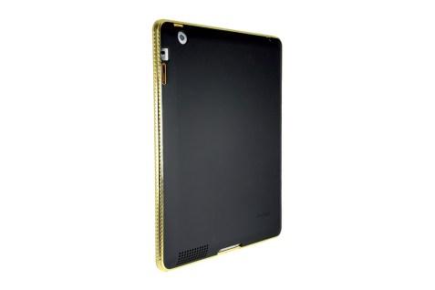 coque ipad 3 chrome bezel GOLD