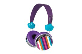 Casque Merkury porter south flat (MULTICOLORE VIOLET)