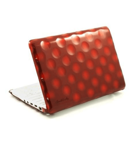 Coque bubble shell rouge pour MacBook 13″ Hard Candy