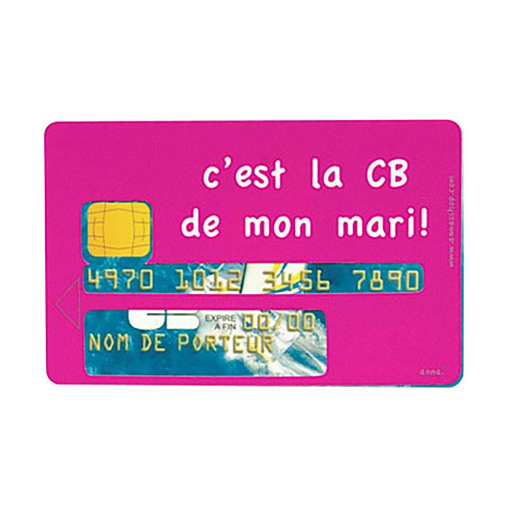 sticker cb (c'est la cb de mon mari)