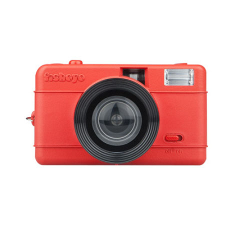 Appareil Fisheye Compact Camera (Rouge) LOMOGRAPHY