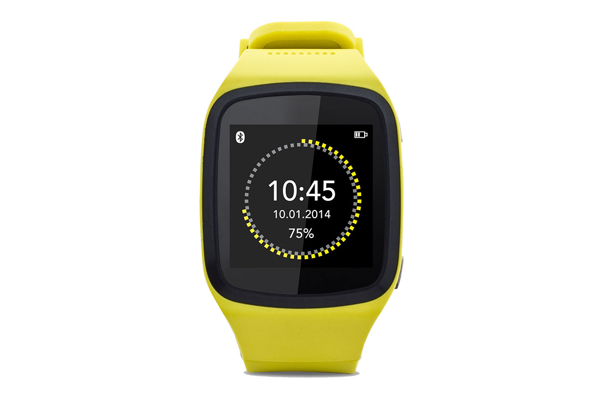 Montre connectée MyKronoz ZeSplash (Jaune)