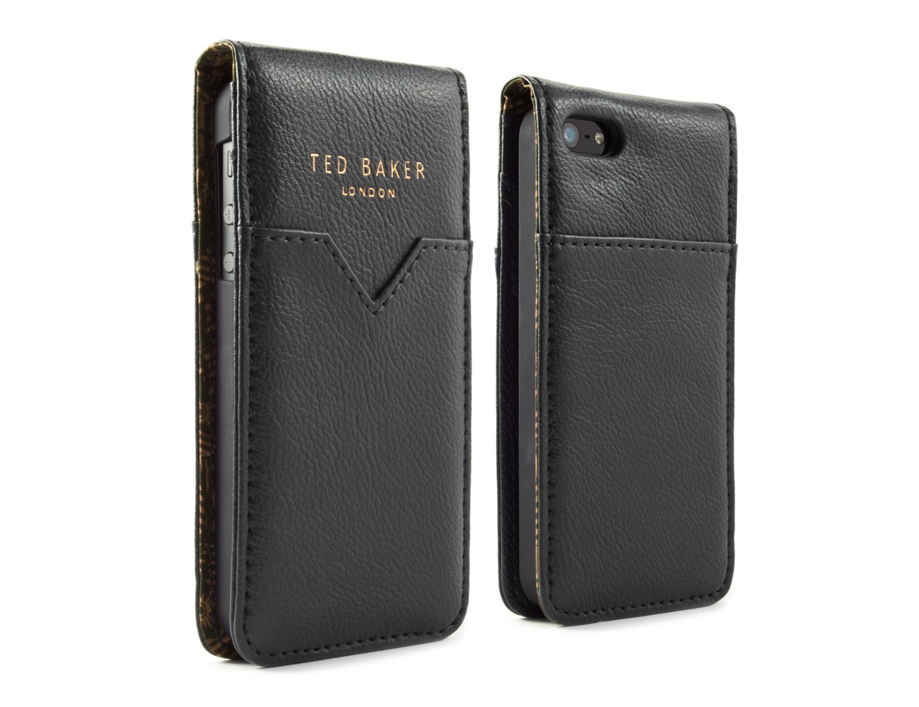 Coque iPhone Ted Baker style cuir