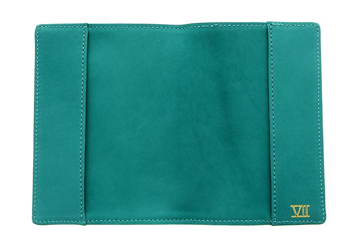 Étui de passeport (turquoise)