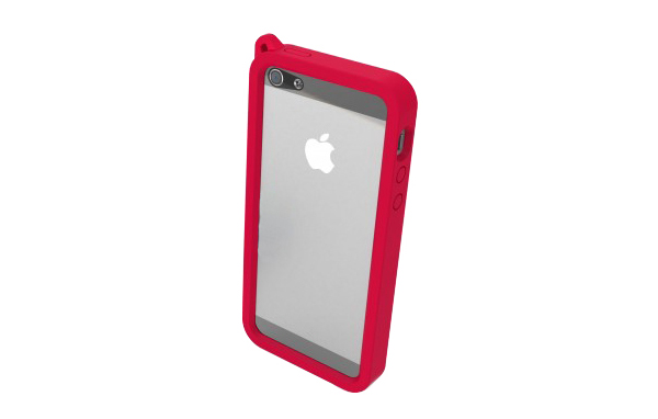 Shield Bumper pour iPhone 5/5S/SE (Rouge)
