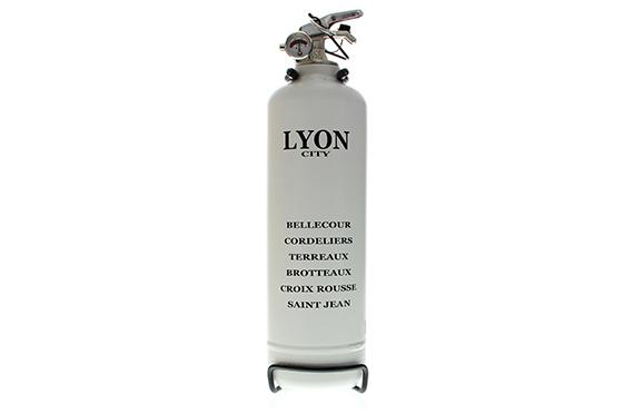 Extincteur Fire Design Quartiers VIP Lyon (Noir)