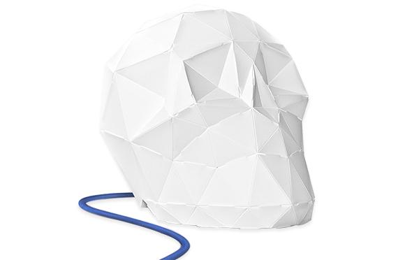 Lampe Origami Edmond AO GITSUNE (Bleu)