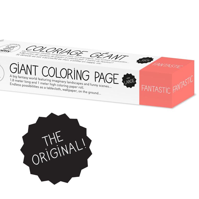 Coloriage XXL Fantastic OMY