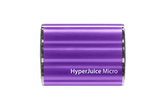 Batterie Hyperjuice Micro 3600 mAh Violet