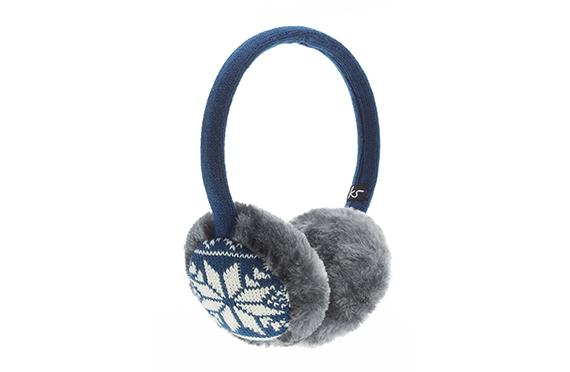Casque Audio Cache-Oreilles Jacquard KitSound (Bleu)