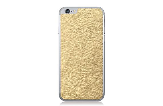 Sticker en cuir Jamie Clawson iPhone 6 (Or)