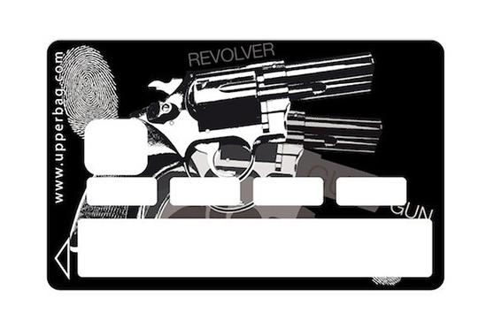 Sticker CB Revolver (Noir)