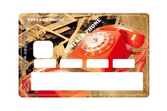 Sticker CB Vintage Phone