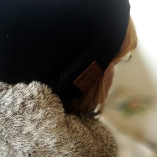 Bonnet Bluetooth Izi sans revers unisexe (Noir)