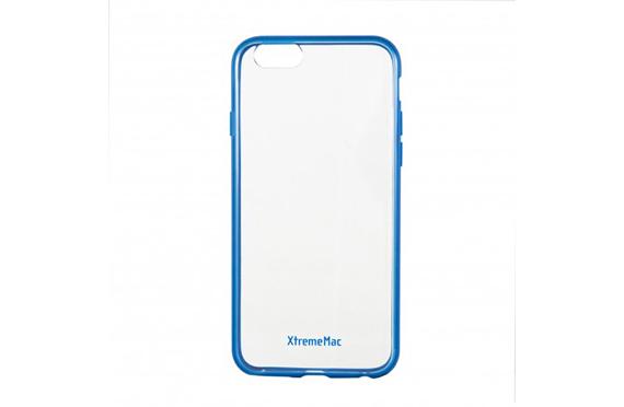 Coque XtremeMac Transparente et Bleue