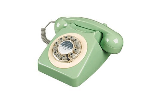 Téléphone vintage Série 746 Wild and Wolf (Vert Suédois)