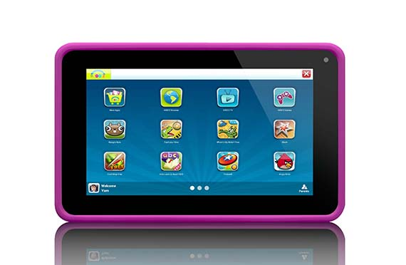 Tablette Lenco Kidz (Rose)