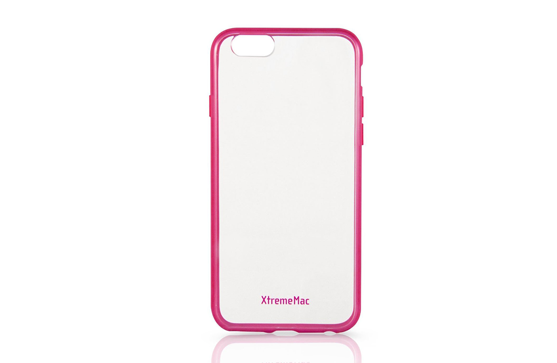 Coque Transparente XtremeMac pour iPhone 6+ (Rose)
