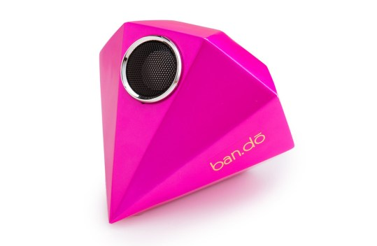 Enceinte Ban.do Giant Gem Rose Neon