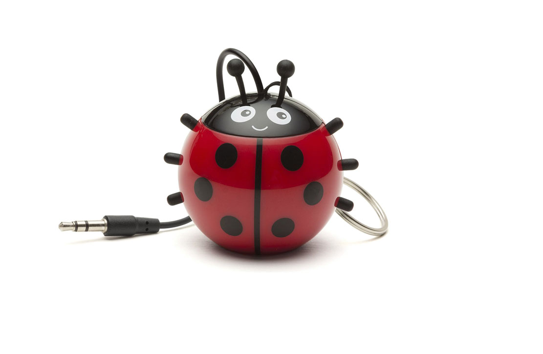 Enceinte KitSound Mini buddy Coccinelle