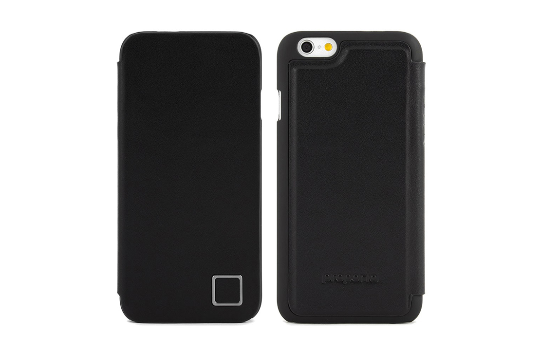 Coque Proporta iPhone 6 Cuir Noir Super Slim