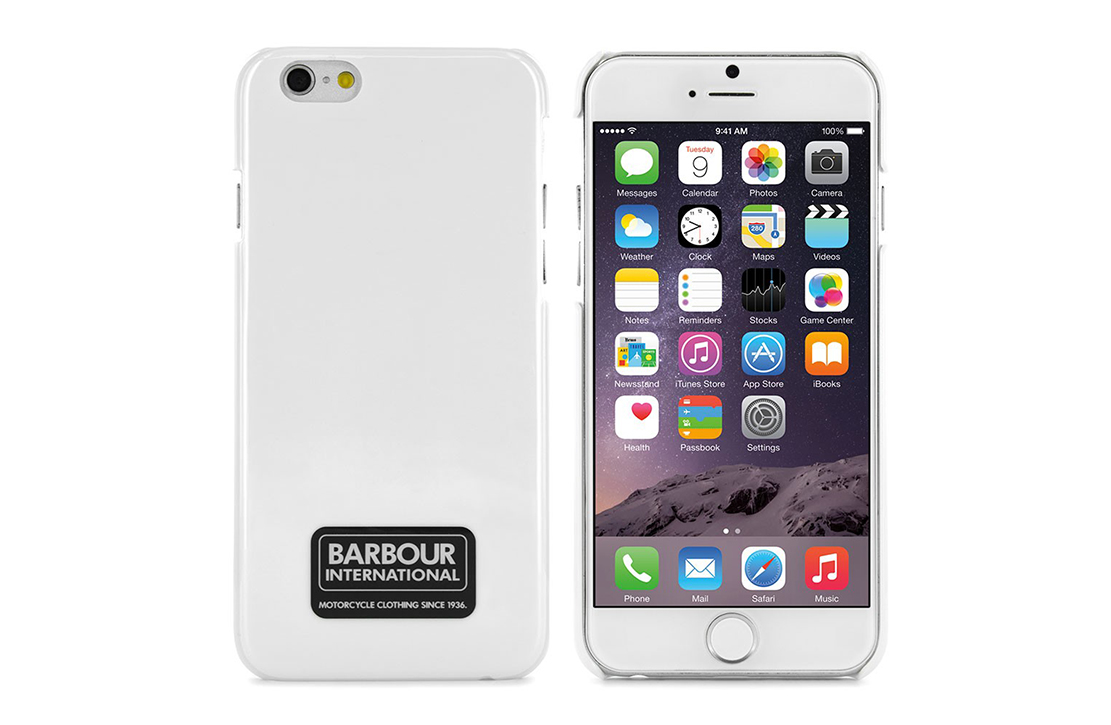 Coque Barbour Blanche pour iPhone 6