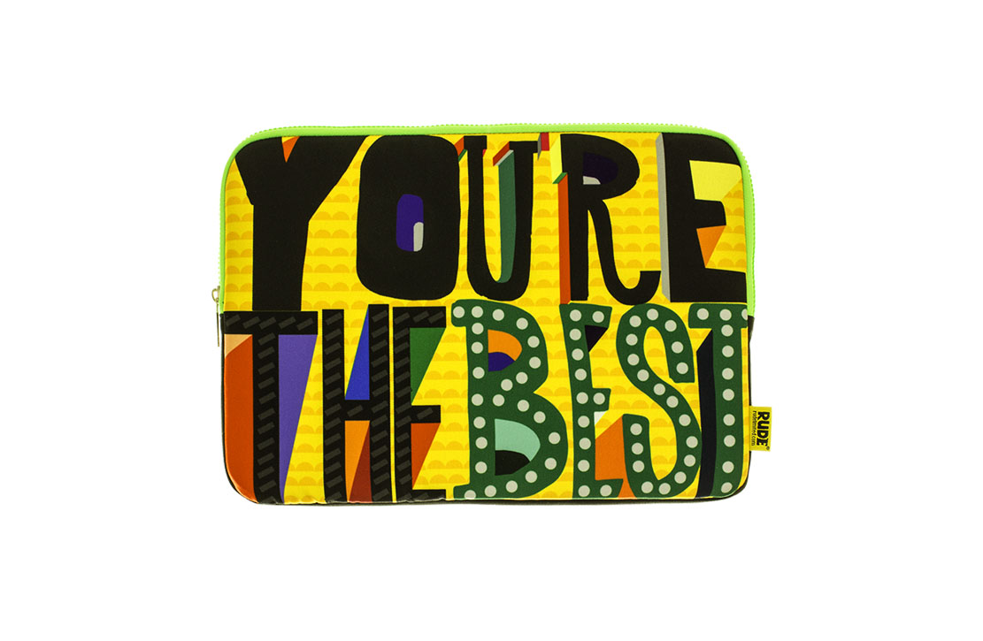 Pochette Rude You're the best 13″