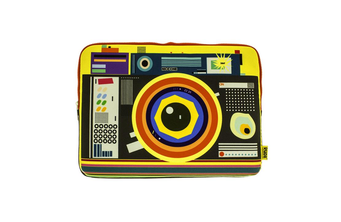 """Pochette Rude Londres Camera 15"""""""