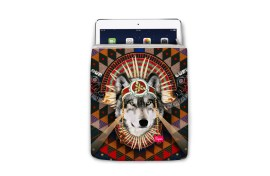 Housse Super Collection Loup iPad