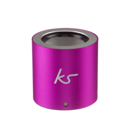 Enceinte Button KitSound Argent