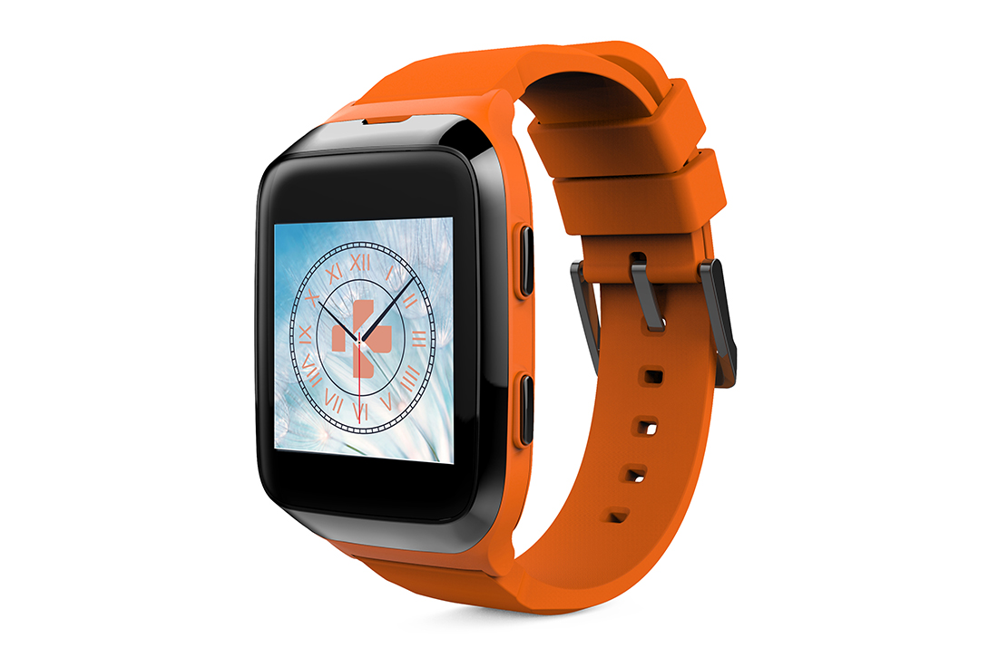 Montre Connectée ZeSplash2 Orange MyKronoz