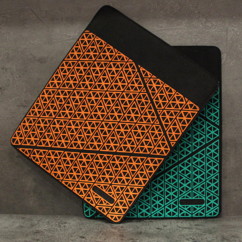 Protection pour tablette iPad pliable Seven Life Orange
