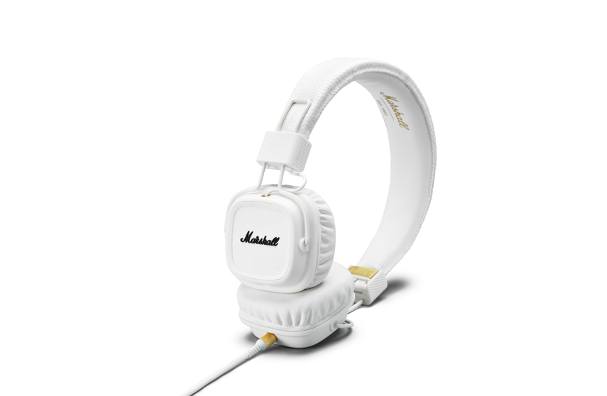 Casque Marshall Major II Blanc