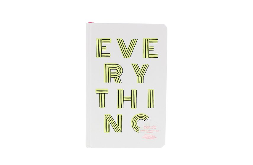 Cahier Journal Everything Ban.do