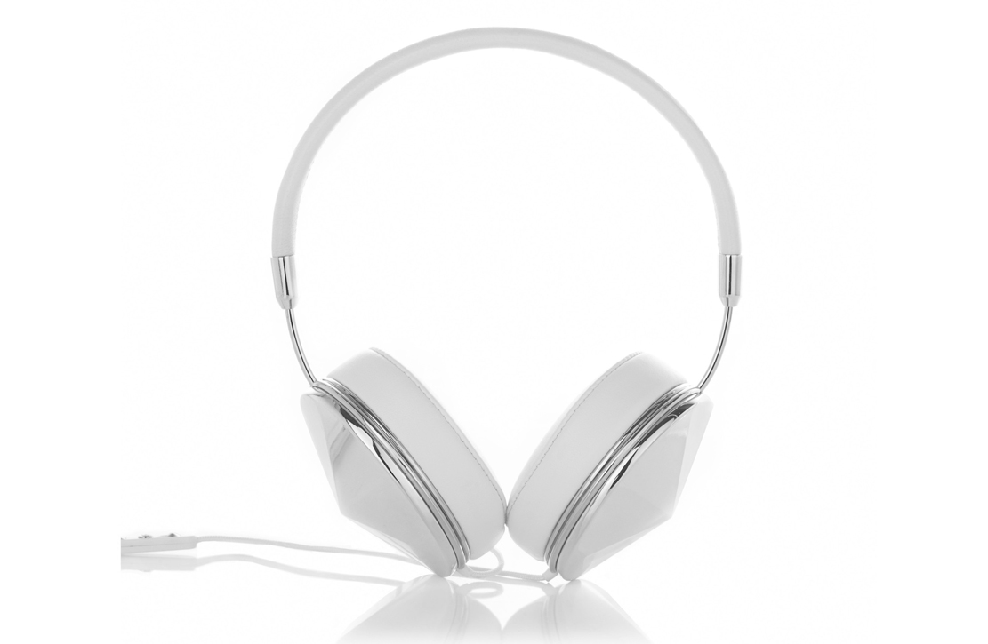 Casque audio The Taylor Frends Blanc / Silver