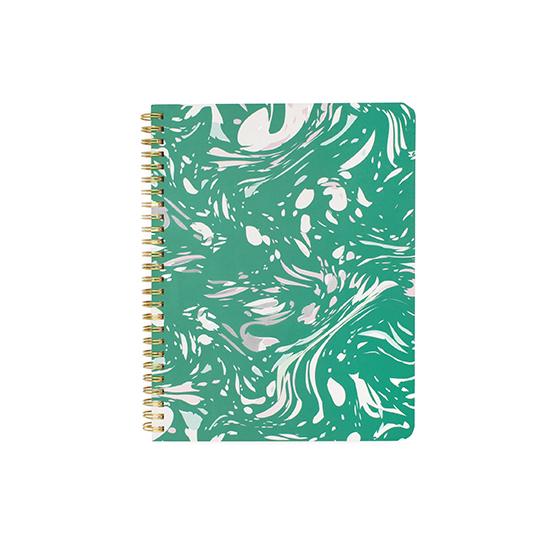 Cahier à spirales Marbre jade Ban.do