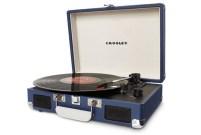Tourne-disque Cruiser Crosley bleu